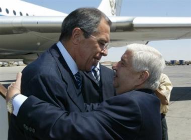 لافروف يؤكد حرص بلاده لإيجاد حل عادل للصراع العربي الاسرائيلي