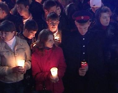 اقامة الفعاليات والصلوات على ارواح ضحايا العدوان الجورجي على أوسيتيا