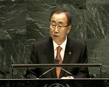بان كي مون يدعو الدول المانحة للوفاء بوعدها تجاه أفريقيا