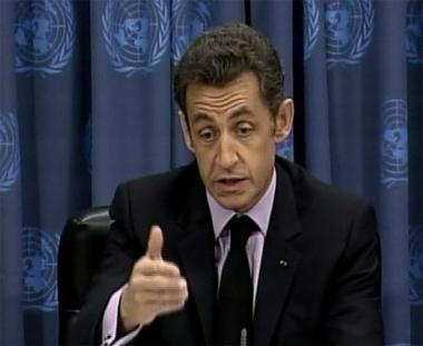 ساركوزي عن البشير: تجميد الاتهامات مقابل تغيرالسياسة