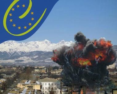 انفجار في تسخينفال يعقب وصول وفد مجلس أوروبا