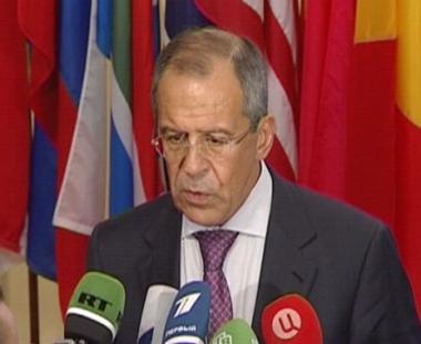 لافروف: الاتفاق بين السداسية وإيران قد يؤثر بشكل ايجابي في الأزمة السورية
