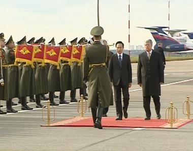 الرئيس الكوري الجنوبي في موسكو لتوطيد العلاقات مع روسيا