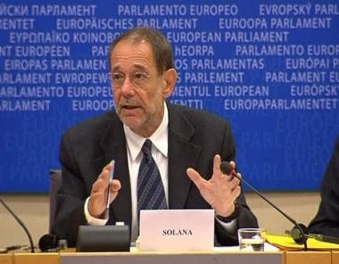 سولانا وأوروبا - السعي لانقاذ ساكاشفيلي