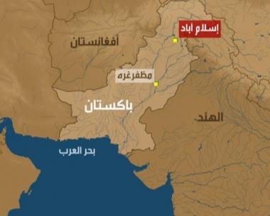 مقتل 35 شخصا في حادث طريق وسط باكستان