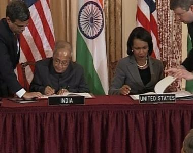 اتفاقية للتعاون النووي بين واشنطن ونيودلهي
