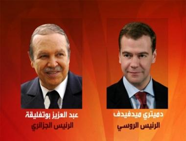 مدفيديف يعزي بوتفليقة في ضحايا فيضانات الجزائر