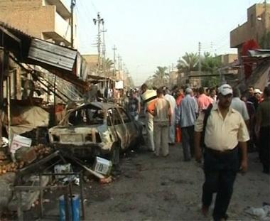 مقتل وجرح العشرات في انفجارين ببغداد وموصل