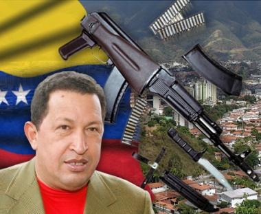 تجميع سلاح الكلاشنكوف في فنزويلا