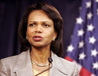 رايس: العراق غير قادر على مكافحة الإرهاب بدون دعم القوات الأمريكية
