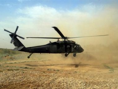 الاركان العامة الايرانية تحذر من عواقب تحليق المروحيات الامريكية عند حدود ايران