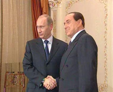بوتين: بإمكان روسيا وإيطاليا التعاون في أسواق دول ثالثة