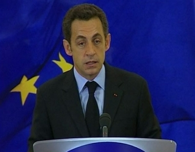 ساركوزي: آن الآوان لمتابعة المفاوضات مع روسيا