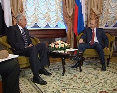 بوتين يعتبر مصر واحدة من اكثر شركاء روسيا الاستراتيجيين المميزين
