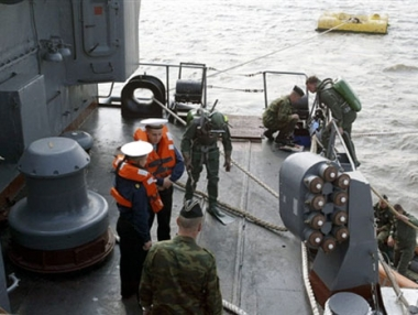 المغوار الروسي يحبط محاولة اختطاف سفينة سعودية