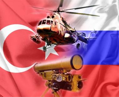 تركيا مهتمة باقامة مشاريع مشتركة مع روسيا في المجالين العسكري والتقني
