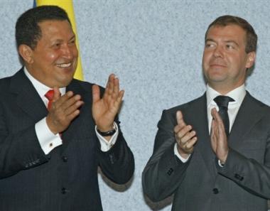اول زيارة للرئيس مدفيديف الى دول امريكا اللاتينية