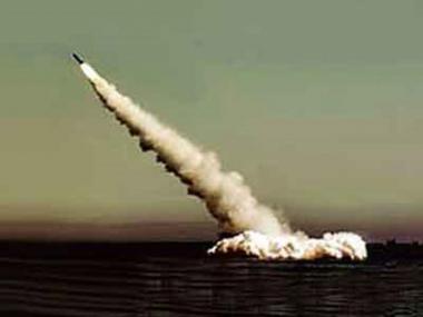 صاروخ من طراز بولافا