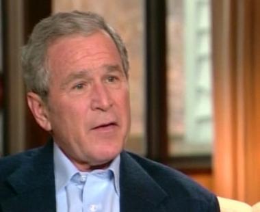 بوش يأسف لفشل المخابرات الأمريكية في العراق