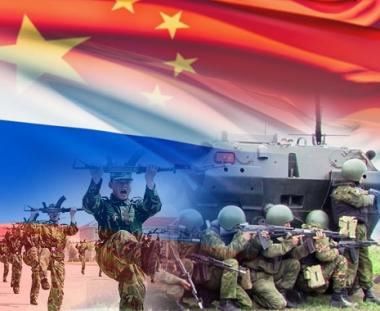 روسيا والصين تجريان مناورات مشتركة لمكافحة الإرهاب في عام 2009