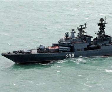 السفن الحربية الروسية تزور كوبا لاول مرة منذ العهد السوفيتي