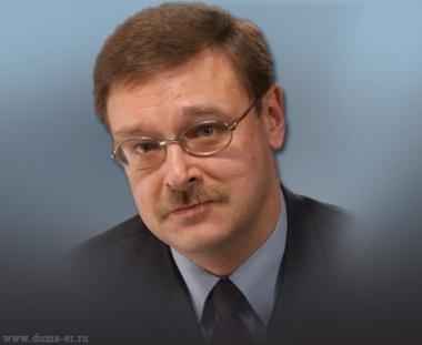 قسطنطين كوساتشوف رئيس لجنة الشؤون الدولية في مجلس الدوما