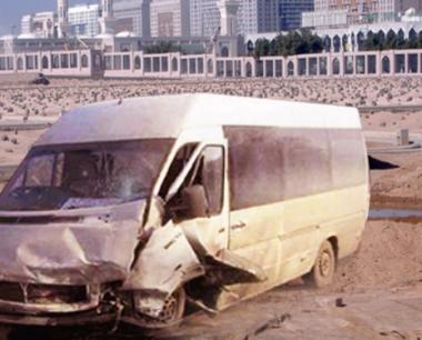 اصابة 6 حجاج روس بحادث سير في السعودية