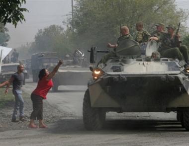 مرتزقة أمريكيون وأوكرانيون شاركوا في عدوان جورجيا على أوسيتيا