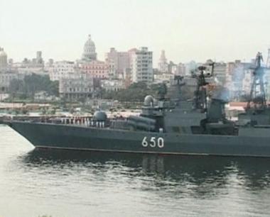 السفن الحربية الروسية تنهي زيارتها الى كوبا وتتوجه الى الوطن