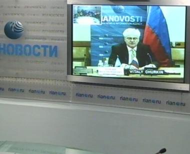 تشوركين: مجلس الأمن يمكن أن يلعب دورا أكبر في تسوية النزاع في القوقاز