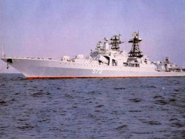 سفن بحرية روسية تتوجه إلى المحيط الهندي