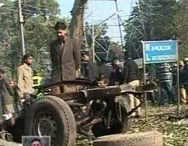 مصرع شخص واحد وإصابة اخرين في انفجار في مدينة لاهور الباكستانية