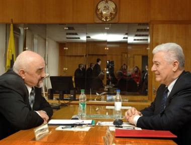 مولدافيا وترانسنيستريا تتفقان على التعاون من أجل التصدي للأزمة المالية