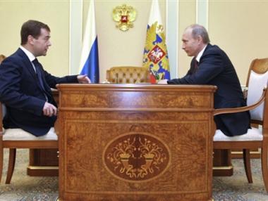 بوتين: نتائج خطة الحكومة ستظهر في الربع الأول من عام 2009