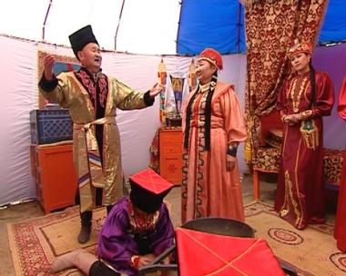 الكالميك شعب فريد يعيش في أراضي روسيا