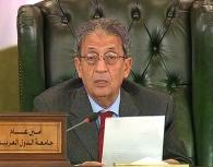 عمرو موسى الامين العام للجامعة العربية