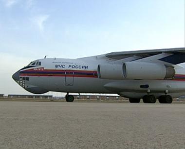 روسيا ترسل طائرة اغاثة رابعة الى غزة