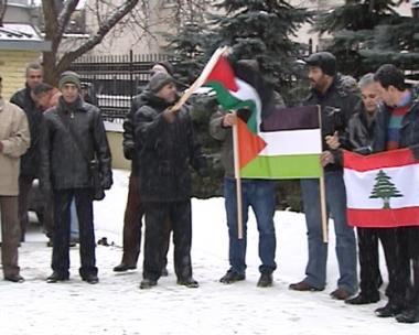 موسكو تشهد لقاءاً تضامنياً مع غزة
