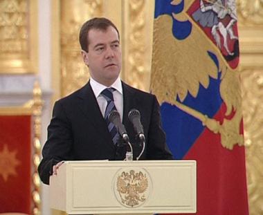 مدفيديف: مؤتمر موسكو حول الشرق الاوسط سيساعد على احلال السلام في المنطقة