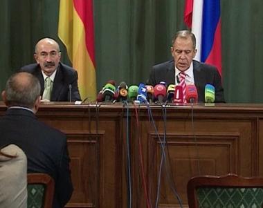 لافروف: روسيا ستساعد اوسيتيا الجنوبية في تجاوزعواقب العدوان الجورجي