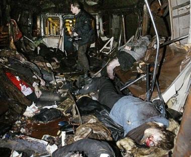 الذكرى الخامسة لمصرع 42 شخصا نتيجة تفجير إنتحاري بميترو موسكو