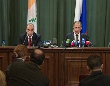 التعاون الاقتصادي وتسوية النزاع القبرصي تتصدر مباحثات لافروف وكيبريانو