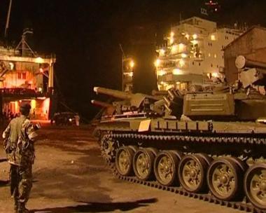 كينيا تفرغ السفينة الأوكرانية من حمولتها