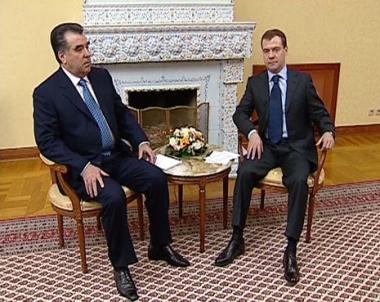 قمة روسية طاجيكية.. تعزيز أواصر التعاون