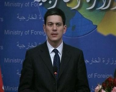ميليباند: الأمن لم يعد المحور الوحيد لتعاوننا مع العراق