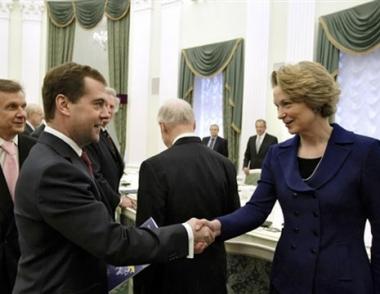مدفيديف سيجري لقاءه الأول مع أوباما في بداية الشهر القادم بلندن
