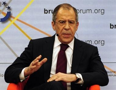 لافروف يعرب عن عدم ارتياح موسكو من نظام الامن في أوروبا
