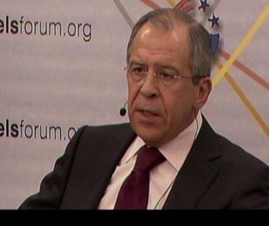 لافروف يدعو الى التفاوض باحترام مع إيران