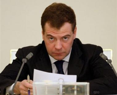 مدفيديف: المرحلة الانتقالية في روسيا قد انتهت