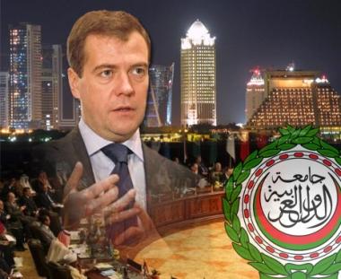 مدفيديف : من الضروري وضع حد لاحتلال الأراضي العربية